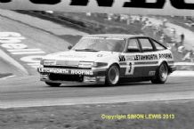 "ROVER SD1 Graham Scarborough Brands Hatch BTCC 1987 10x7"" photo"